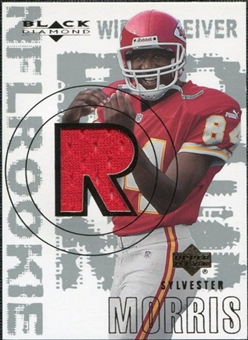 2000 Upper Deck Black Diamond #171 Sylvester Morris RC Jersey