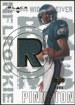 2000 Upper Deck Black Diamond #174 Todd Pinkston RC Jersey
