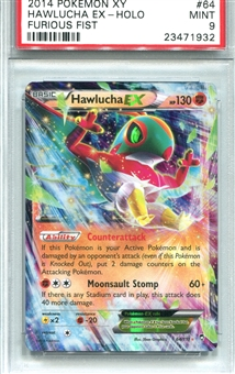 Pokemon Furious Fists Single Hawlucha EX - PSA 9 *23471932*