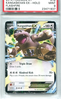 Pokemon Flashfire Single Kangaskhan EX - PSA 9 *23471937*