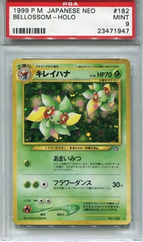 Pokemon Neo Single Bellossom Japanese - PSA 9 *23471947*