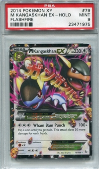 Pokemon Flashfire Single Mega Kangaskhan EX - PSA 9 *23471975*