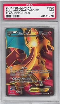 Pokemon Flashfire Single Charizard EX Full Art - PSA 7 *23471976*