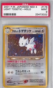 Pokemon Neo 4 Single Light Togetic Japanese - PSA 9 *23472022*
