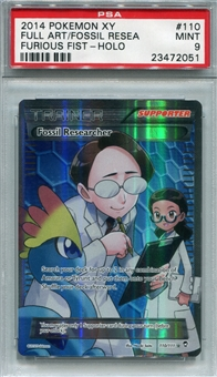 Pokemon Furious Fists Single Fossil Researcher Full Art - PSA 9 *23472051*