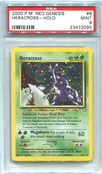 Pokemon Neo Genesis Single Heracross - PSA 9 *23472095*