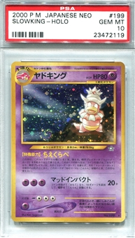 Pokemon Neo Single Slowking Japanese - PSA 10 *23472119*