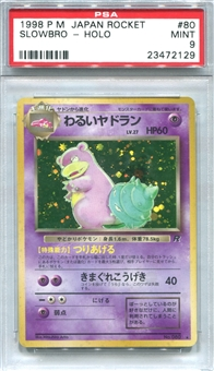 Pokemon Rocket Single Slowbro Japanese - PSA 9