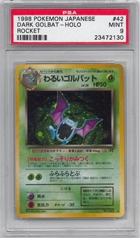 Pokemon Team Rocket Single Dark Golbat Japanese - PSA 9 - *23472130*