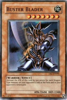 Yu-Gi-Oh Dark Beginning Single Buster Blader Super Rare (DB1-EN095)