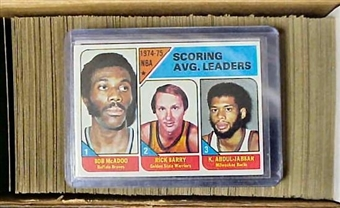 1975/76 Topps Basketball Complete Set (NM-MT)