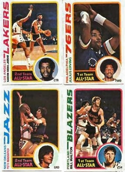 1978/79 Topps Basketball Complete Set (NM-MT)