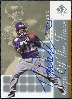 2000 Upper Deck SP Authentic Sign of the Times #TW Troy Walters Autograph