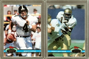 1991 Topps Stadium Club Football Complete Set (NM-MT)