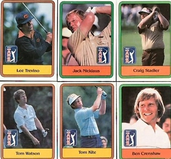 1981 Donruss Golf Complete Set