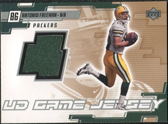 2000 Upper Deck Game Jersey #AF Antonio Freeman