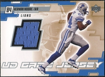 2000 Upper Deck Game Jersey Herman Moore #HM