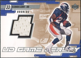 2000 Upper Deck Game Jersey Olandis Gary #OG