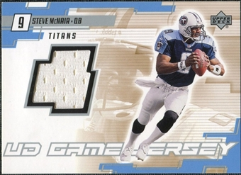 2000 Upper Deck Game Jersey Steve McNair #SM