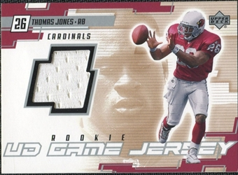 2000 Upper Deck Game Jersey #TJ Thomas Jones