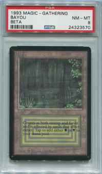 Magic the Gathering Beta Single Bayou PSA 8 *24323570*
