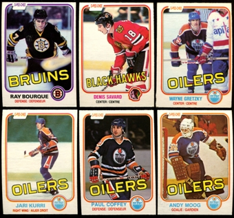 1981/82 O-Pee-Chee Hockey Complete Set (NM-MT)