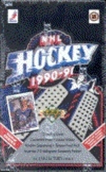 1990/91 Upper Deck English Hi # Hockey Hobby Box