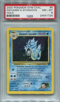 Pokemon Gym Challenge Single Giovanni's Gyarados 5/132 - PSA 8  *24541724*