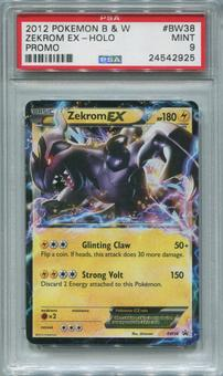 Pokemon Black & White Single Zekrom EX BW38 - PSA 9  *24542925*