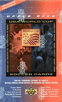 1994 Upper Deck World Cup English/Spanish Soccer Box