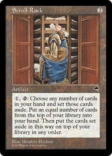 Magic the Gathering Tempest Single Scroll Rack - SLIGHT PLAY (SP)
