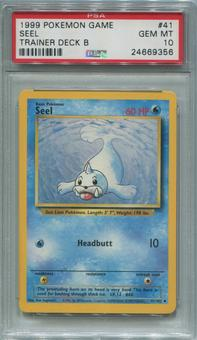 Pokemon Trainer Deck B Single Seel 41/102  -  PSA 10 *24669356*