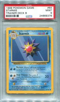 Pokemon Trainer Deck B Single Starmie 64/102  -  PSA 9  *24669376*