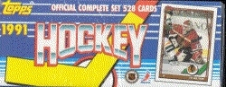 1991/92 Topps Hockey Factory Set