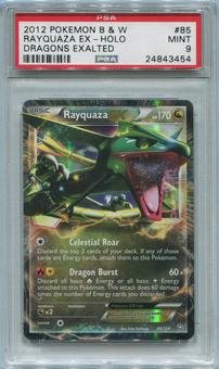 Pokemon Dragons Exalted Single Rayquaza EX 85/124 - PSA 9  *24843454*