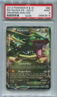 Pokemon Dragons Exalted Single Rayquaza EX 85/124 - PSA 9 *24843515*