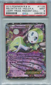 Pokemon Legendary Treasures Single Meloetta EX RX11/RC25 - PSA 9 *24843516*