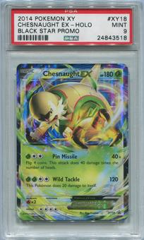 Pokemon Promo Single Chesnaught EX XY18 - PSA 9 *24843518*