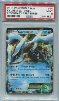 Pokemon Legendary Treasures Single Kyurem EX 44/113 - PSA 9 *24843521*