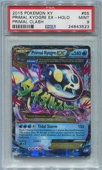 Pokemon Primal Clash Single Primal Kyogre EX 55/160 - PSA 9  *24843523*
