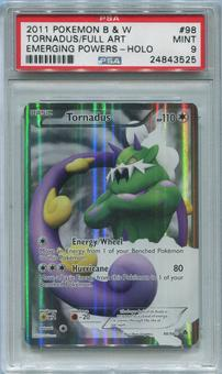 Pokemon Emerging Powers Single Tornadus 98/98 - PSA 9 *24843525*