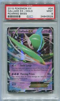 Pokemon Roaring Skies Single Gallade EX 34/108 - PSA 9 *24843529*