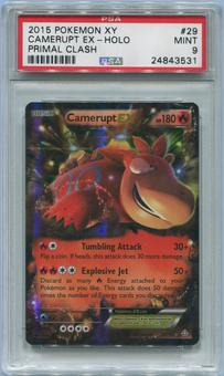 Pokemon Primal Clash Single Camerupt EX 29/160 - PSA 9 *24843531*