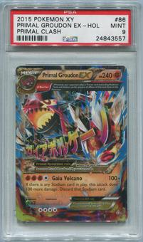 Pokemon Primal Clash Single Primal Groudon EX 86/160 - PSA 9  *24843557*