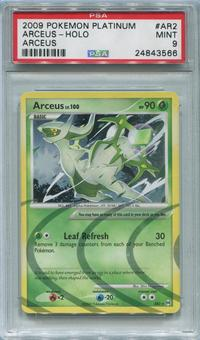 Pokemon Arceus Single Arceus AR2 - PSA 9  *24843566*