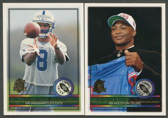 1996 Topps Football Complete Set (NM-MT)