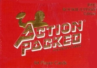 1991 Action Packed Football Rookie Update Factory Set