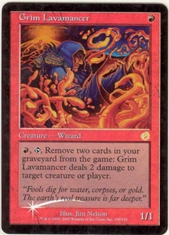 Magic the Gathering Torment Single Grim Lavamancer FOIL