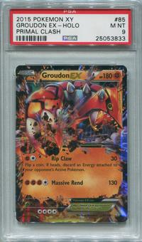 Pokemon Groudon EX Single 85/160 - PSA 9 *25053833*