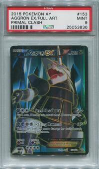 Pokemon Primal Clash Single Aggron EX 153/160 FULL ART  -  PSA 9  *25053836*